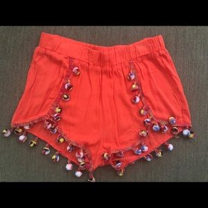 Surf Gypsy Pom Pom shorts